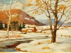 A.H. Morris: Winter Landscape