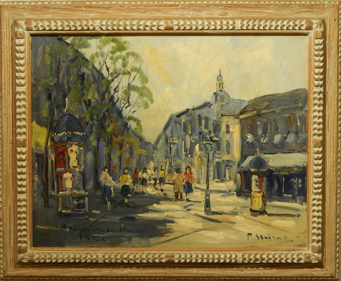 Michel Soutine: Boulevard des Italiens, Paris, c.1960
