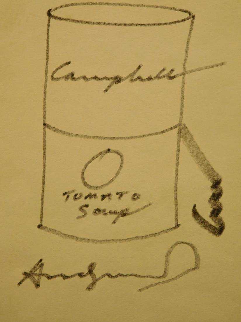 Andy Warhol: Soup Can Drawing