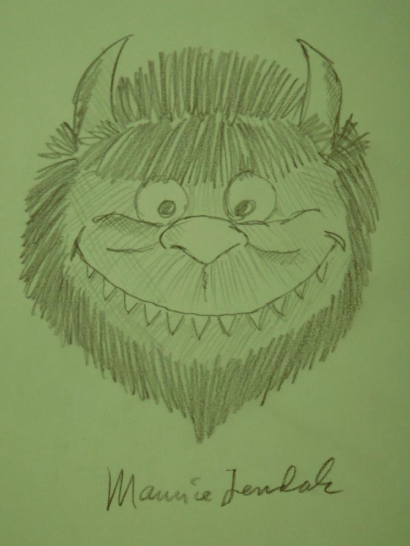 Maurice Sendak: Wild Thing Drawing