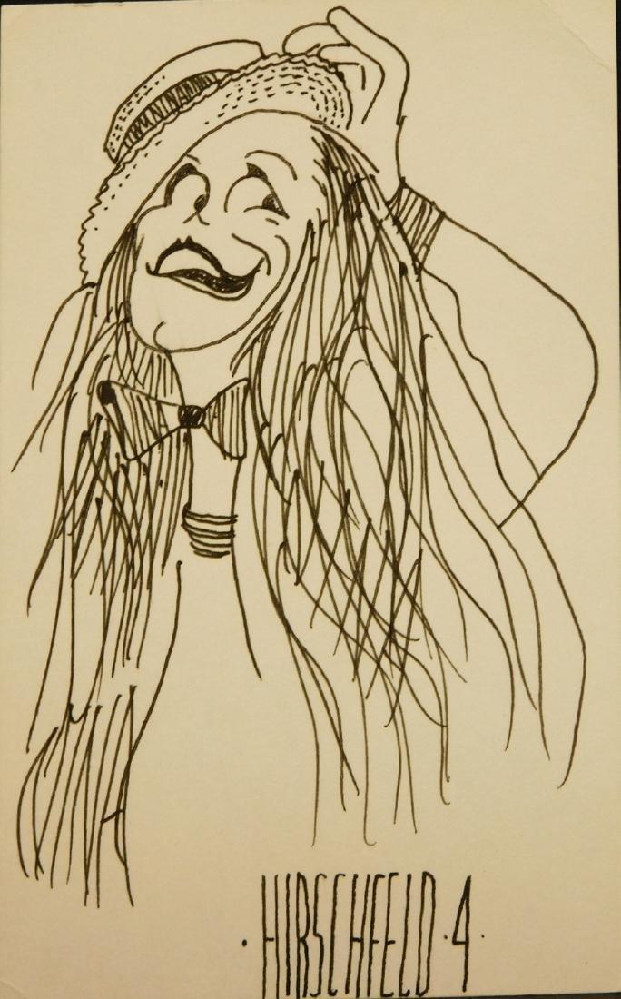Al Hirschfeld: Characature Drawing