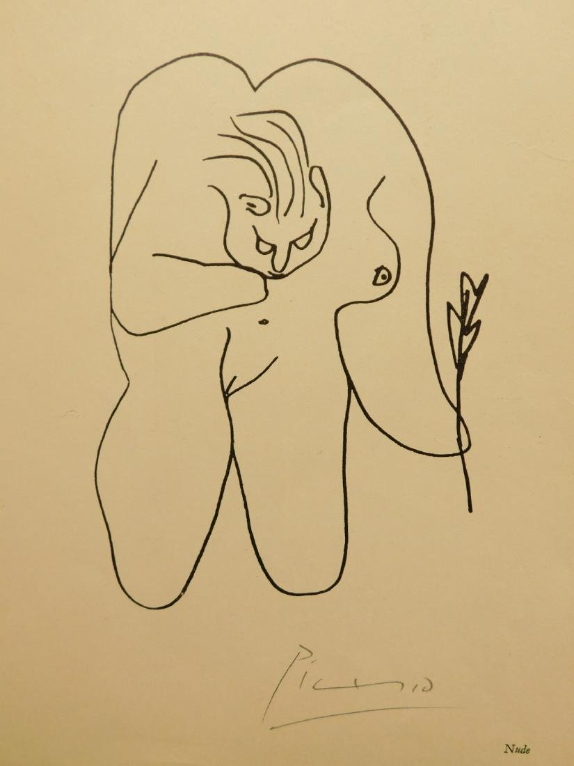 Pablo Picasso: Nude, Signed lithograph