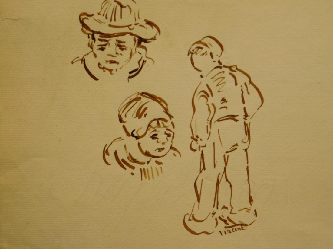 Vincent Van Gogh: Figure Study Sketches