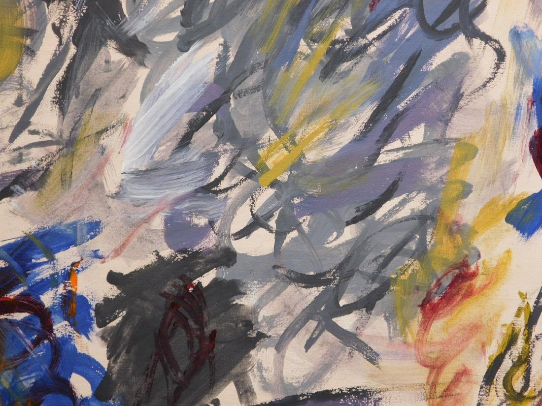 Joan Mitchell: Abstract Composition - 8