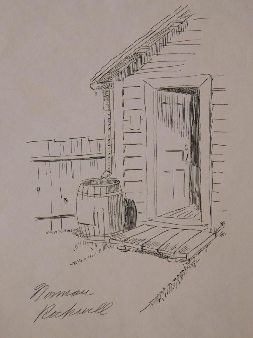 Norman Rockwell: Open Door