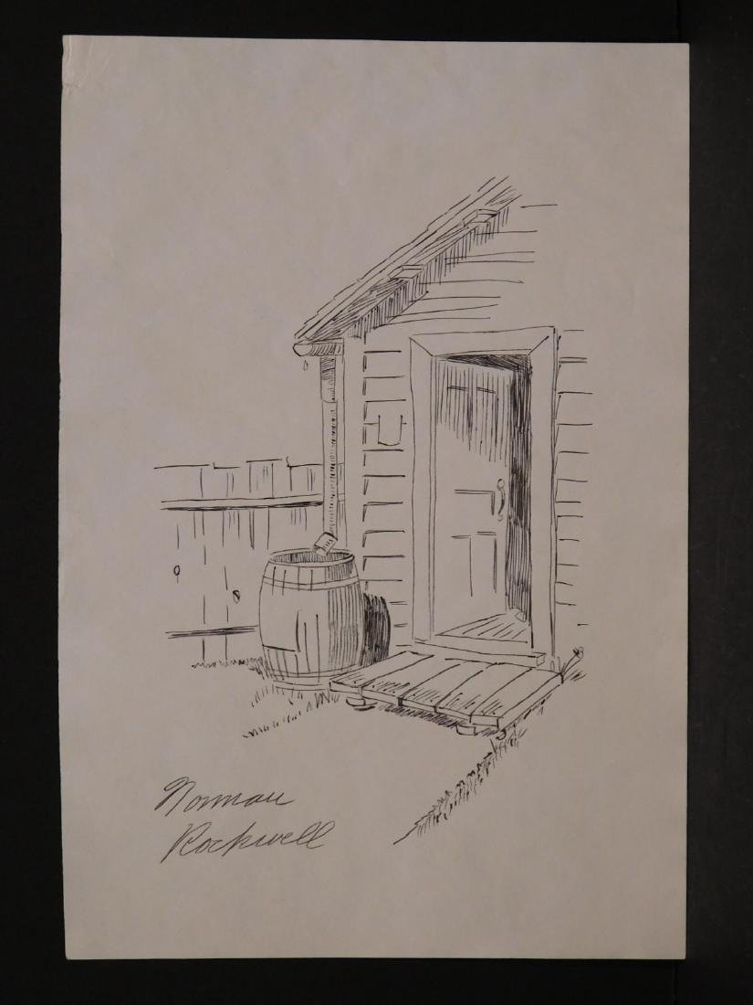 Norman Rockwell: Open Door - 2