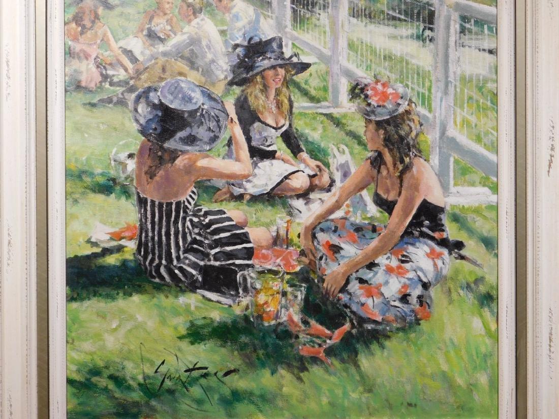 Gordon King: Pimms on the Grass