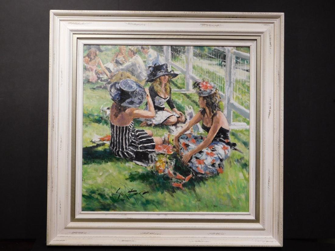 Gordon King: Pimms on the Grass - 2