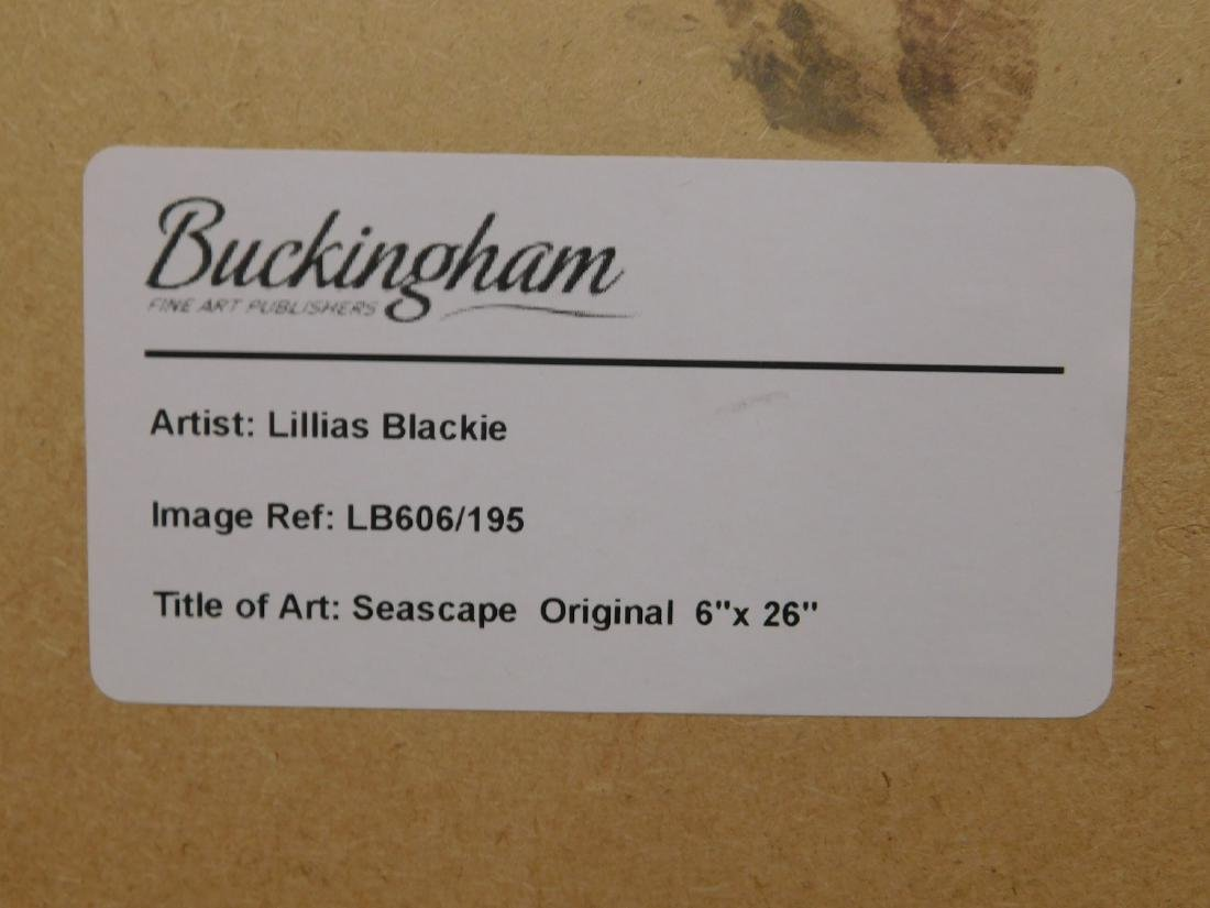 Lillias Blackie: Seascape - 9