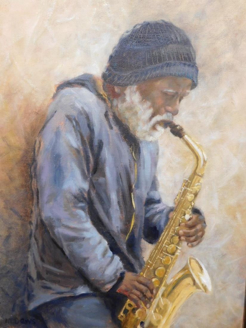 Mary Dews: Saxophonist