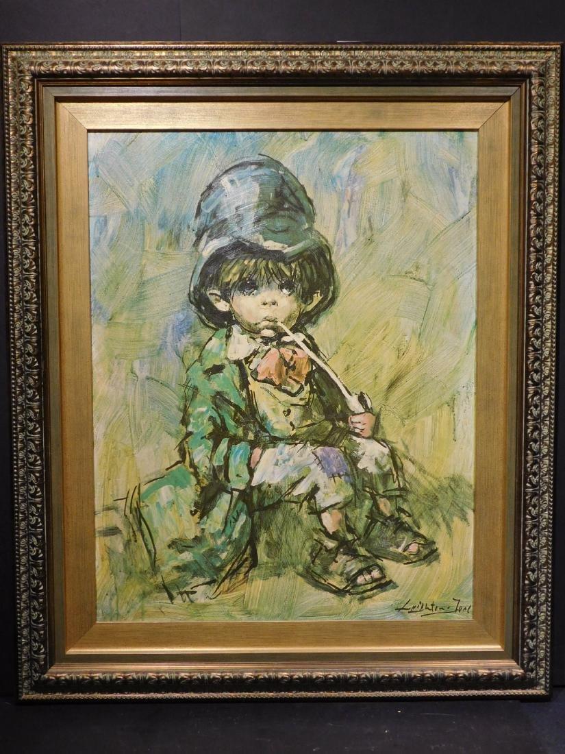 Leprechaun Boy with a Pipe