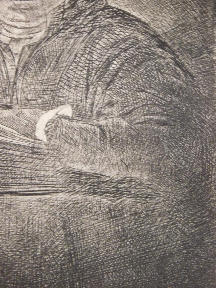 Rembrandt Van Rijn: Self Portrait Drawing at a Window - 5