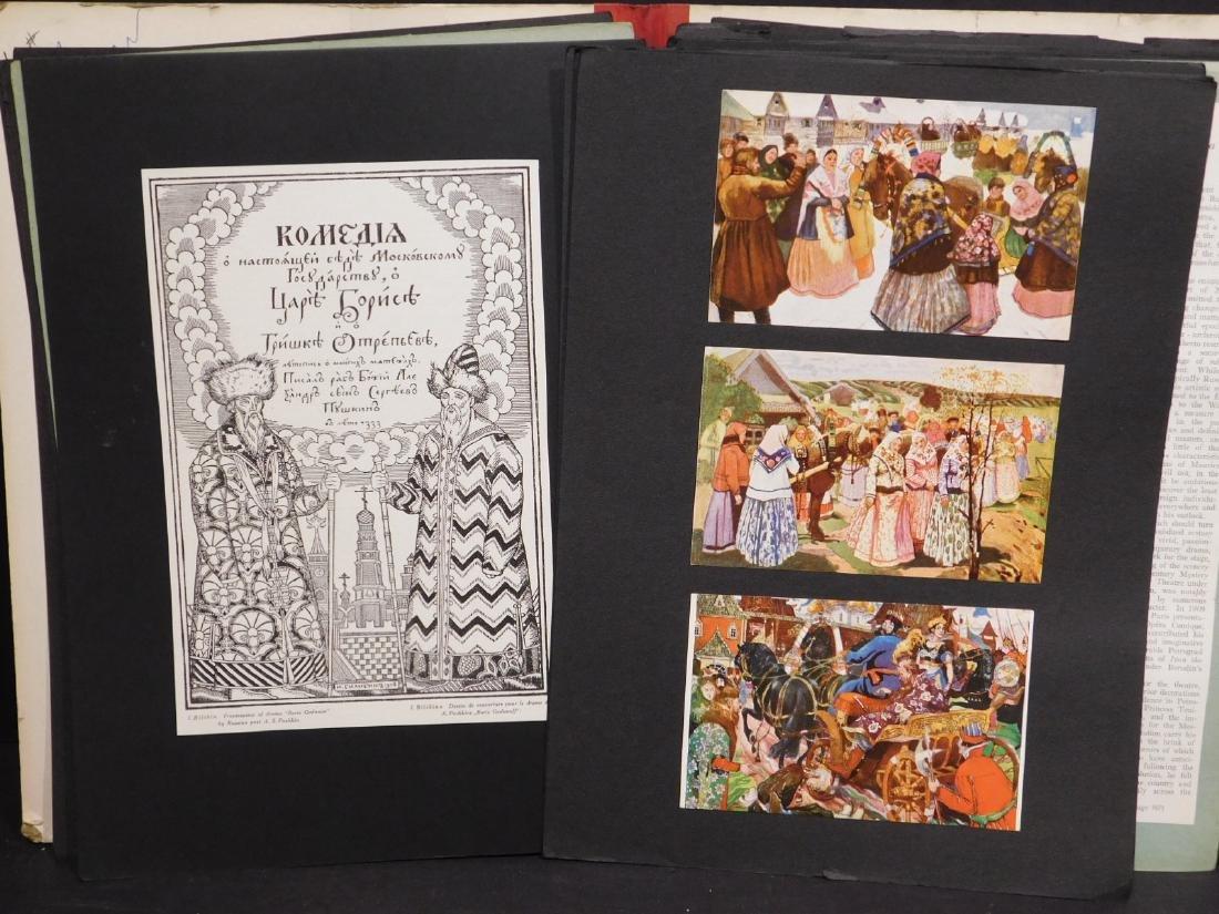 Scrapbook of Russian Images c. 1950