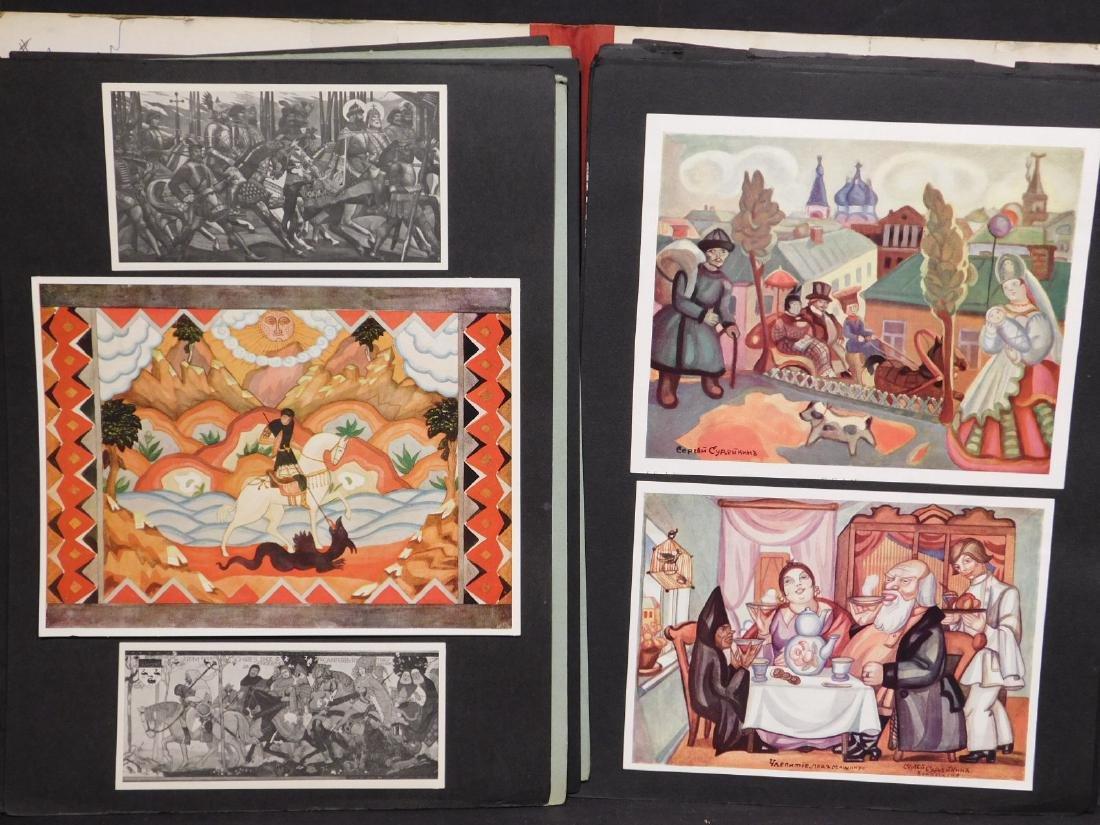 Scrapbook of Russian Images c. 1950 - 2