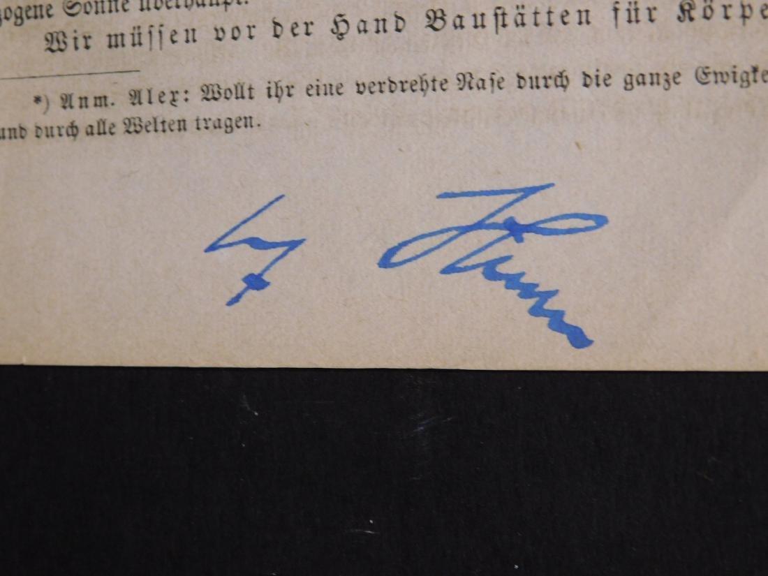 Adolf Hitler Signature