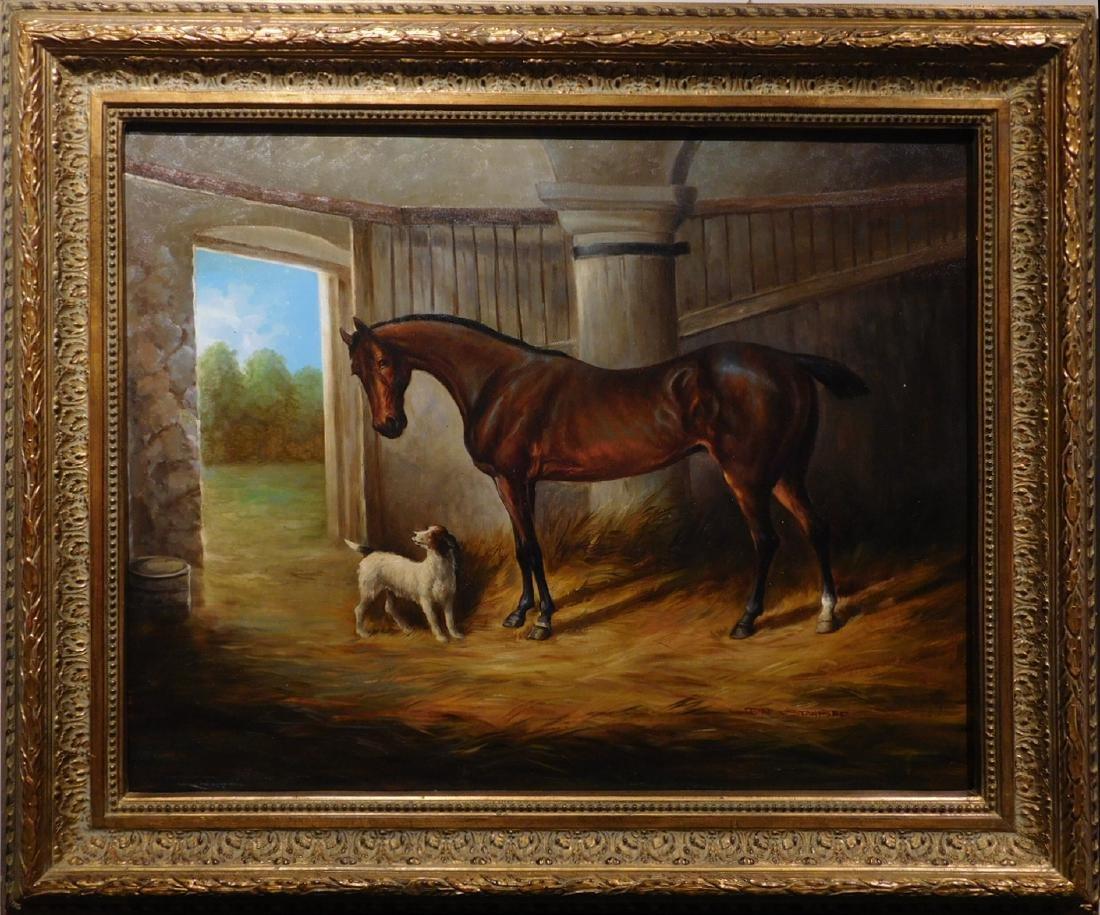 John Stanford: Horse & Dog