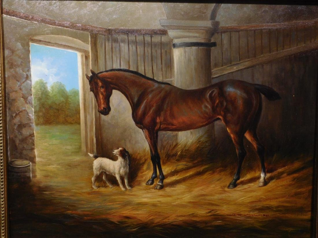 John Stanford: Horse & Dog - 2