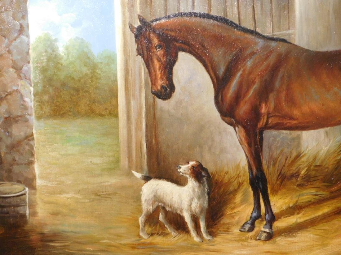 John Stanford: Horse & Dog - 4