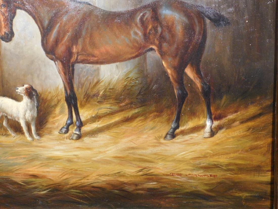 John Stanford: Horse & Dog - 6