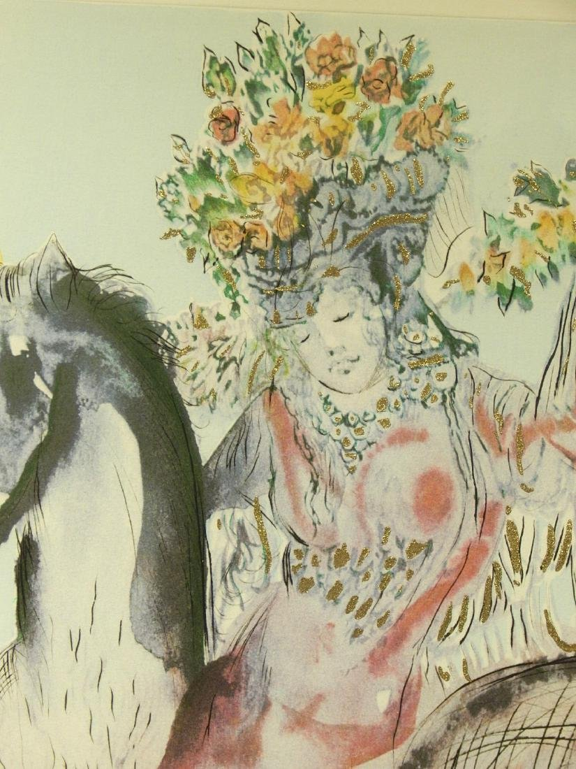 Style of Salvador Dali: The Flowered Horseman, 1982 - 5