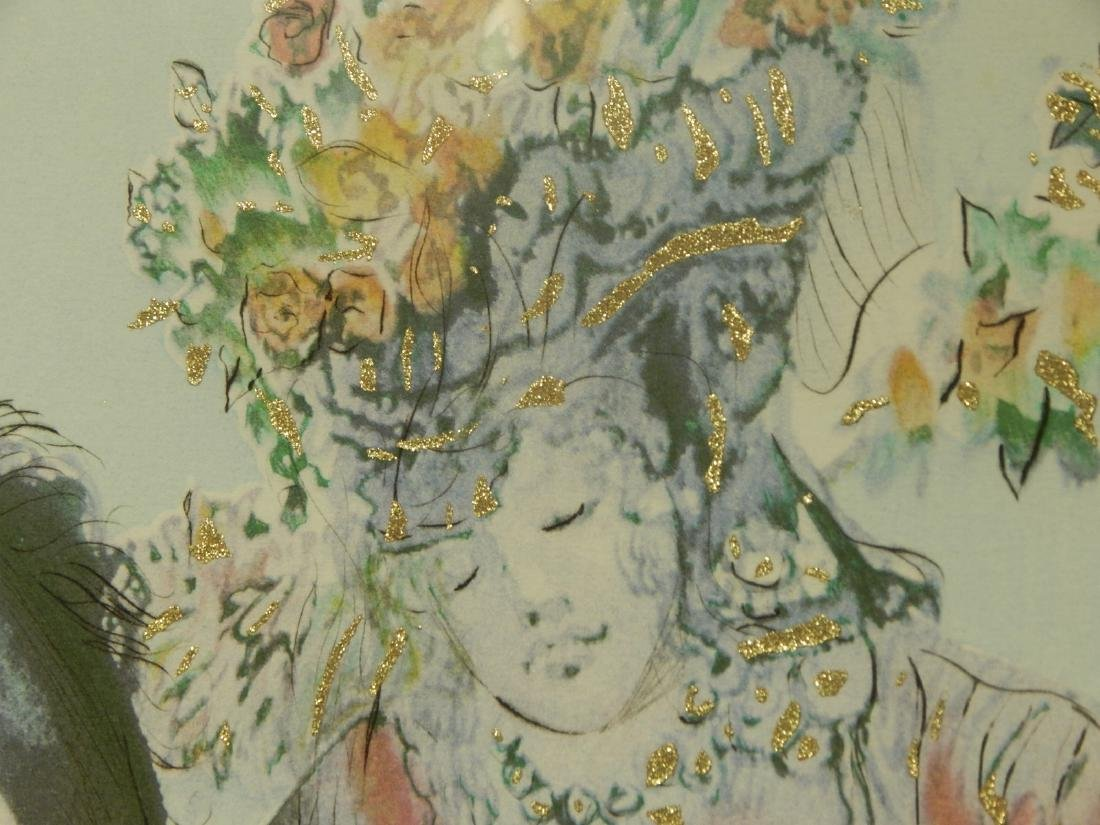 Style of Salvador Dali: The Flowered Horseman, 1982 - 9
