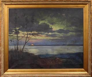 Jasper Francis Cropsey: Autumn Sunset, 1878