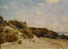 William Merritt Chase: Seacoast Landscape
