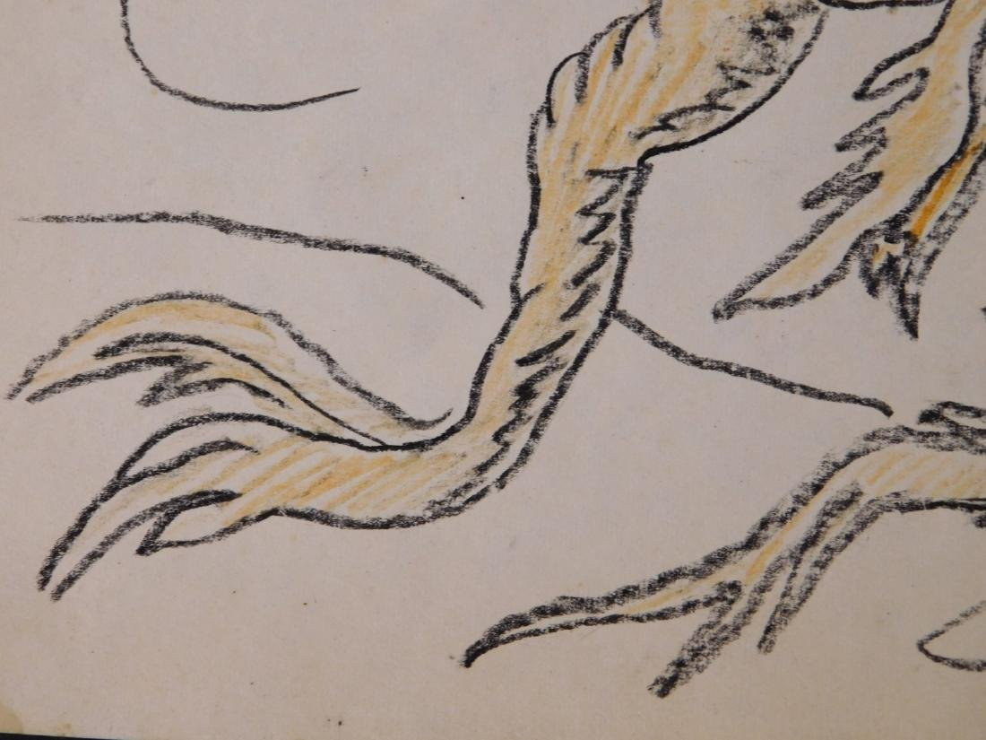 Dr. Seuss: Illustration of Old Fish (One Fish Two Fish - 4