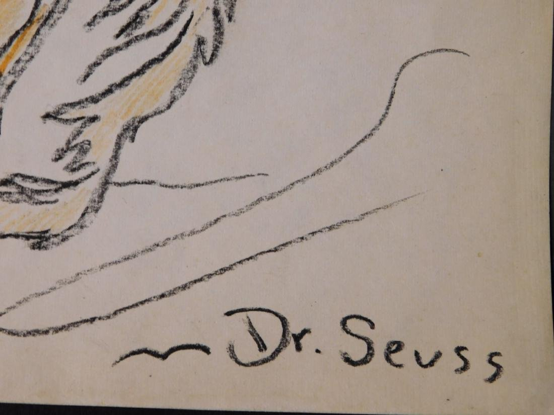 Dr. Seuss: Illustration of Old Fish (One Fish Two Fish - 5