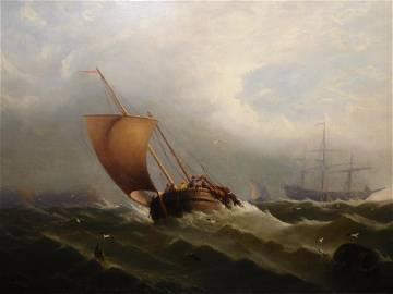 Edward Moran: A Shipwreck