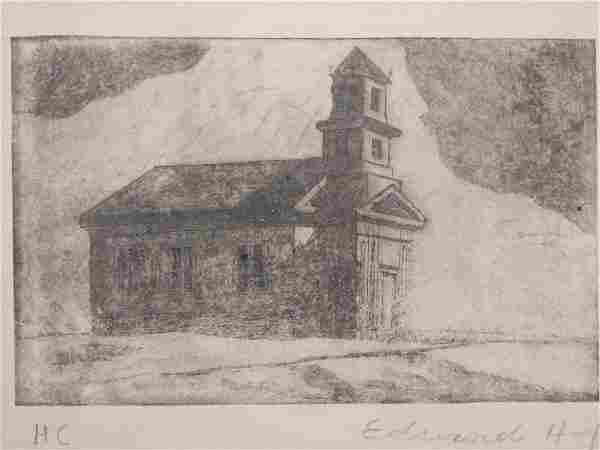 Edward Hopper: South Truro Church