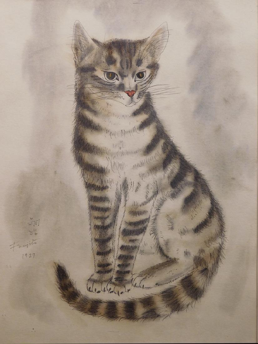 Leonard Tsuguharu Foujita: Cat