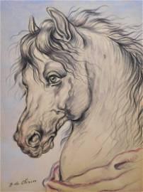 Giorgio de Chirico: Testa di Cavallo (Horse Head)