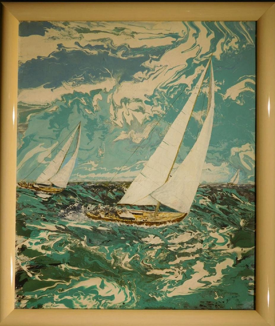 Bill Miller:  Sailboat Racing, Florida