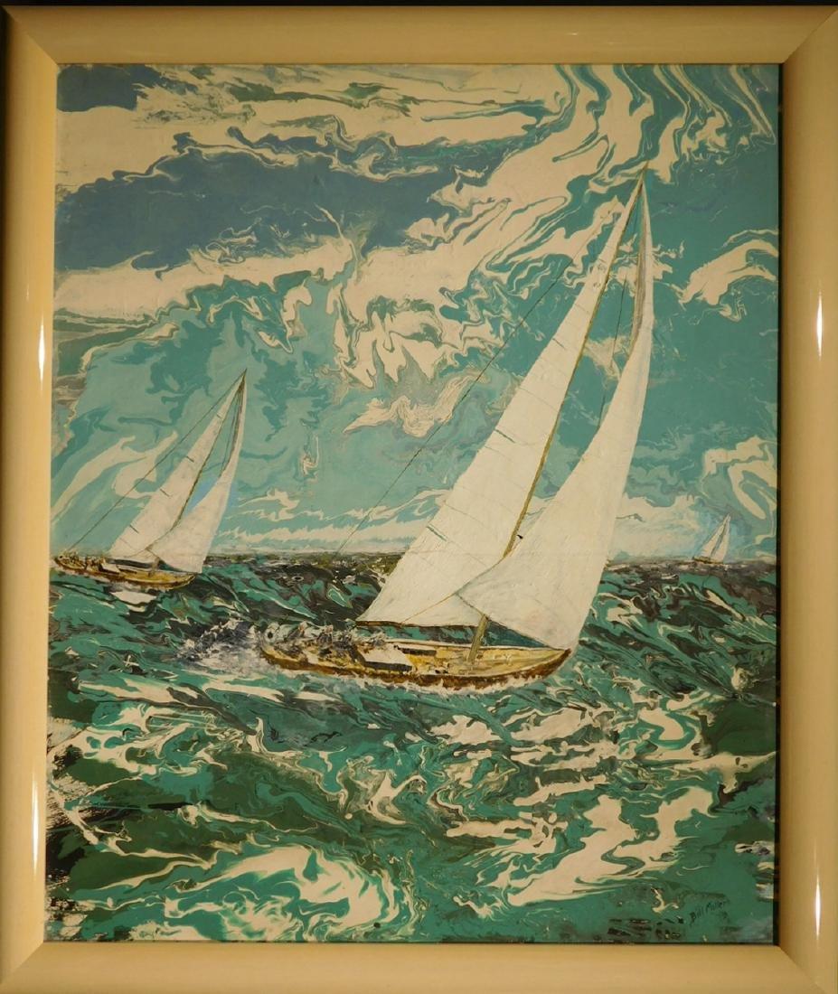 Bill Miller:  Sailboat Racing, Florida