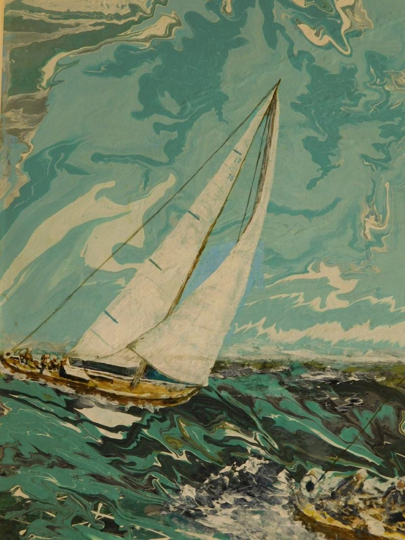 Bill Miller:  Sailboat Racing, Florida - 7