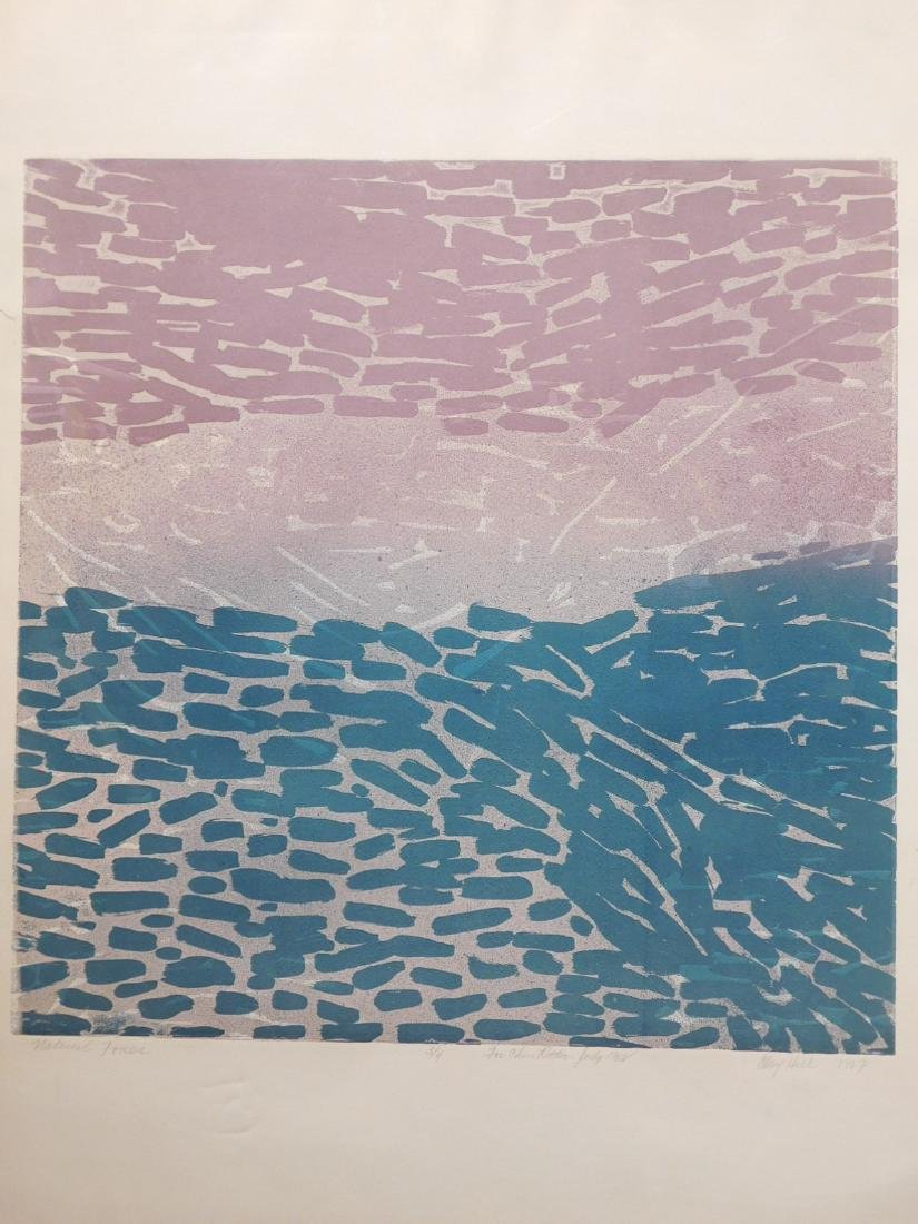 Clayton Hill: Natural Forces, Screenprint