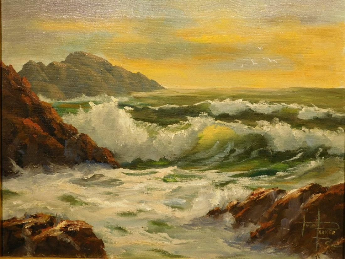 Trudi Parker: California Seascape