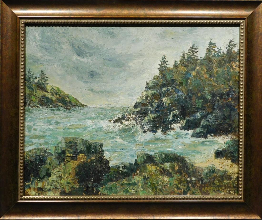 Apperson: Rocky Coast