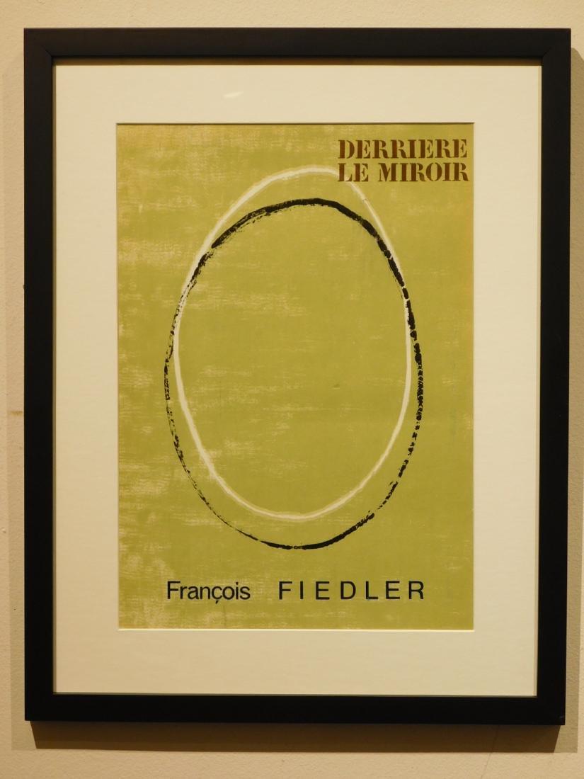 Francois Fiedler: Derriere Le Miroir Cover