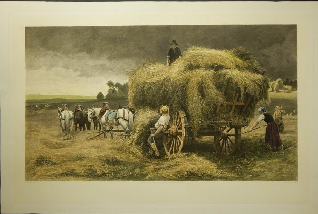 Julien Dupre: The Hay Wagon