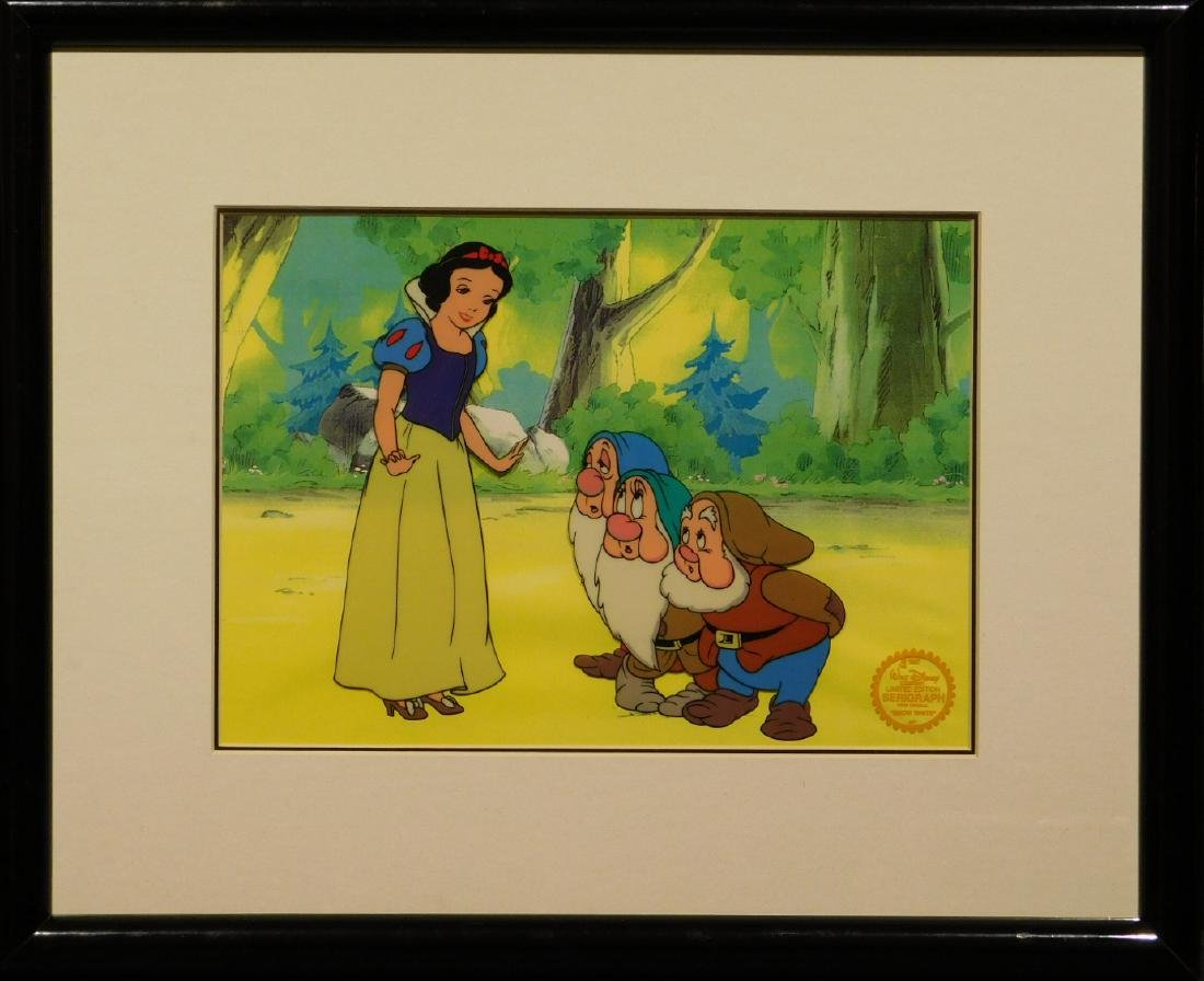 Walt Disney Co.: Snow White serigraph/sericel