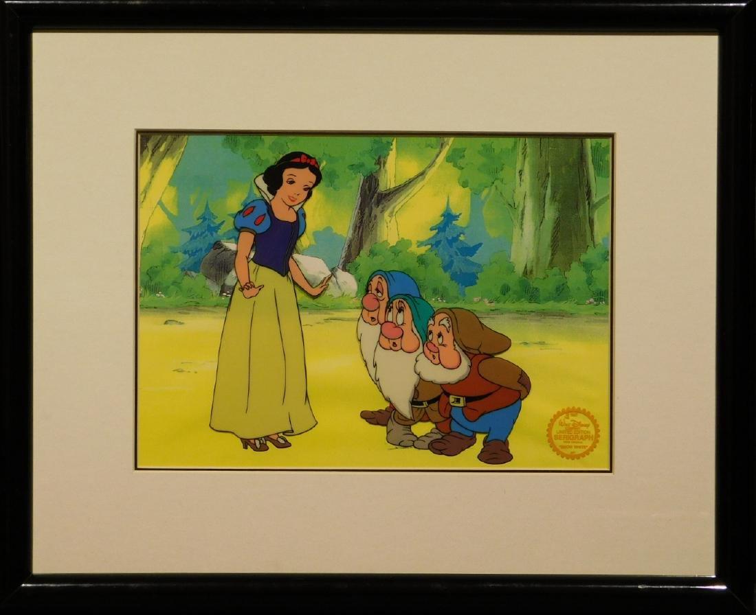 Walt Disney Co.: Snow White serigraph/sericel