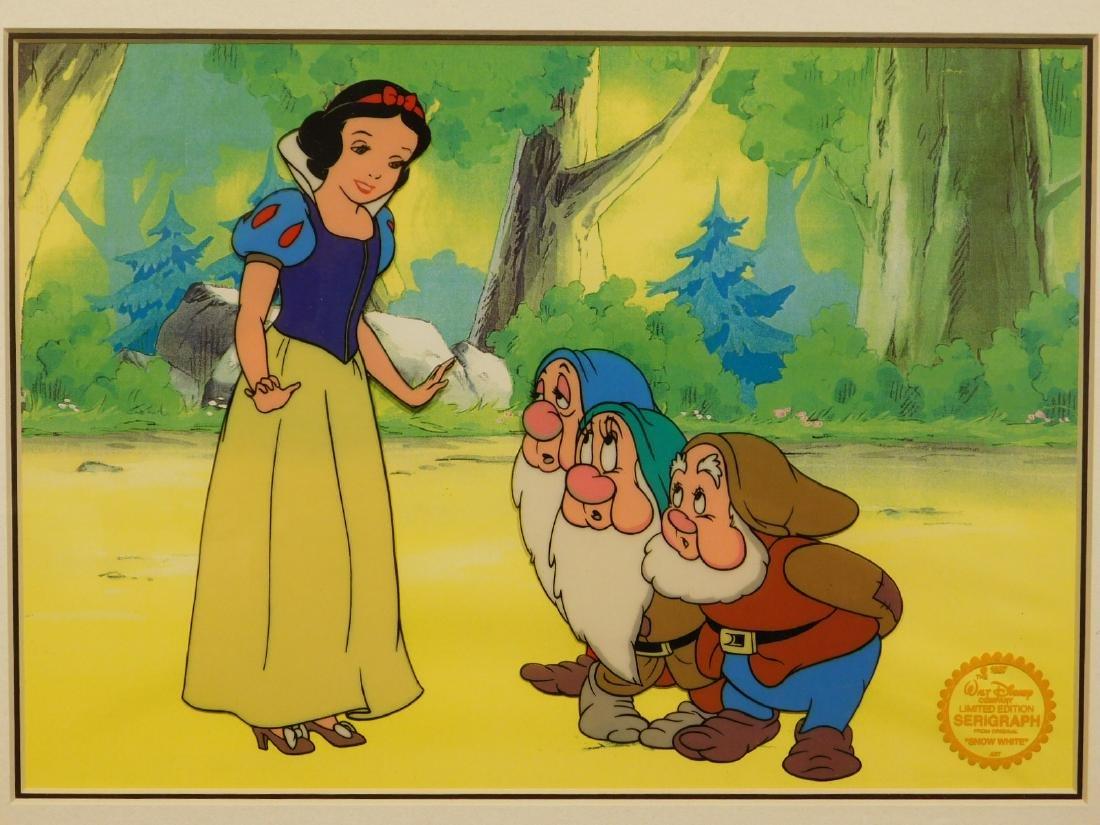 Walt Disney Co.: Snow White serigraph/sericel - 2