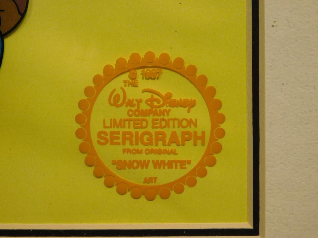 Walt Disney Co.: Snow White serigraph/sericel - 3