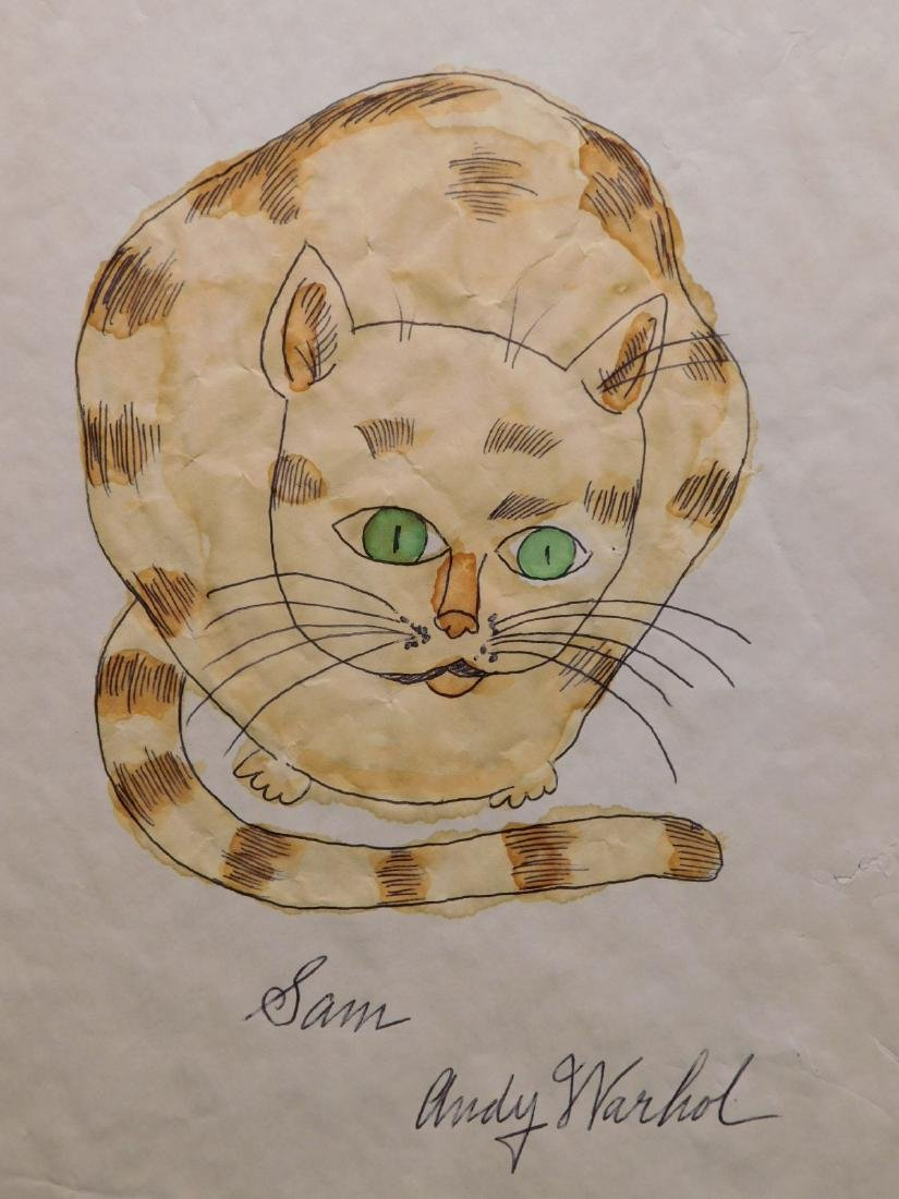 Andy Warhol: Sam the Cat