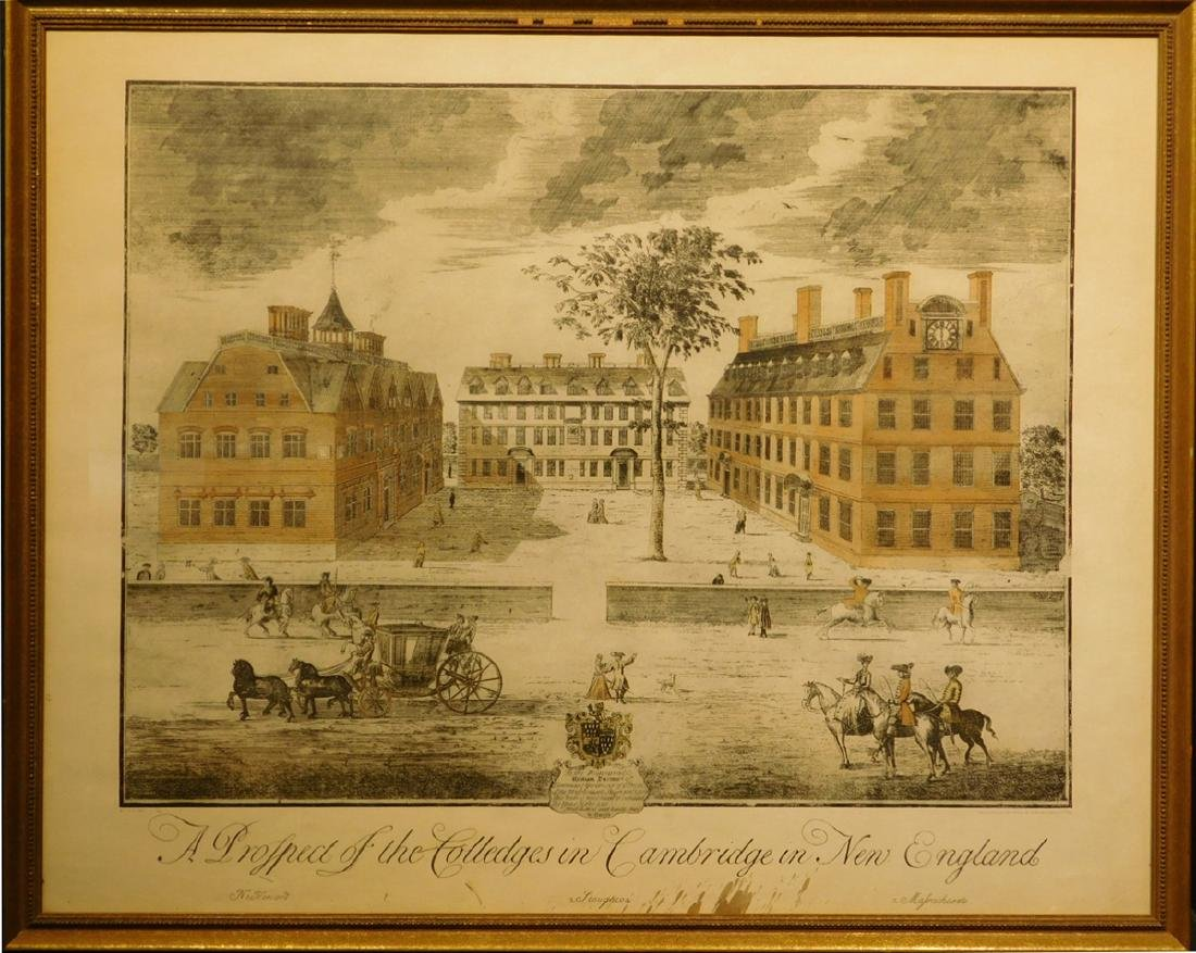 H.C.L.: A Prospect of the Colledges in Cambridge in New