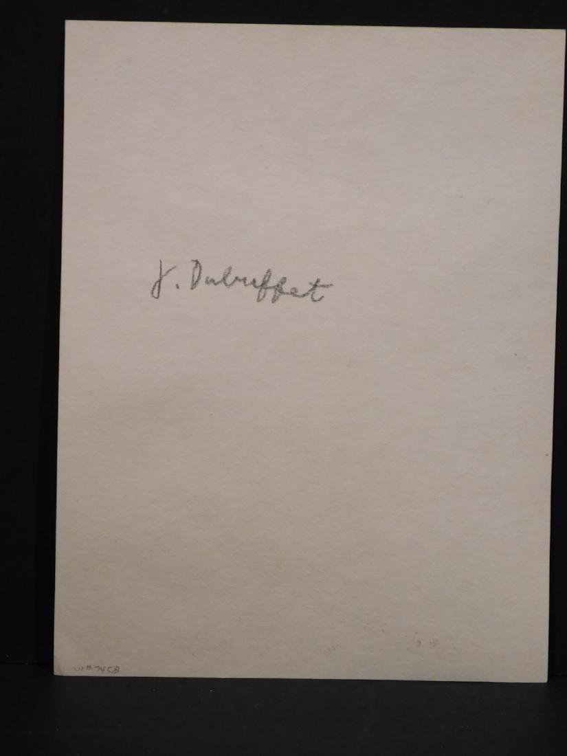 Manner of Jean Dubuffet:  Male Portrait - 7