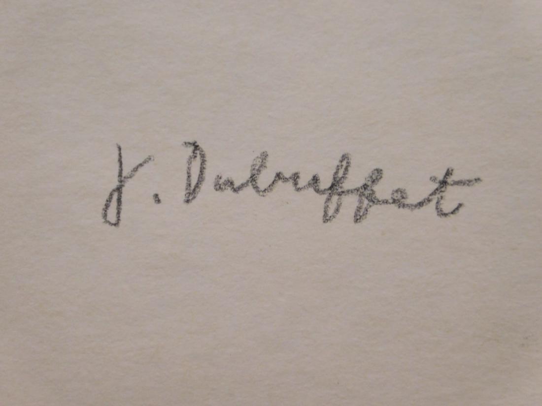 Manner of Jean Dubuffet:  Male Portrait - 8