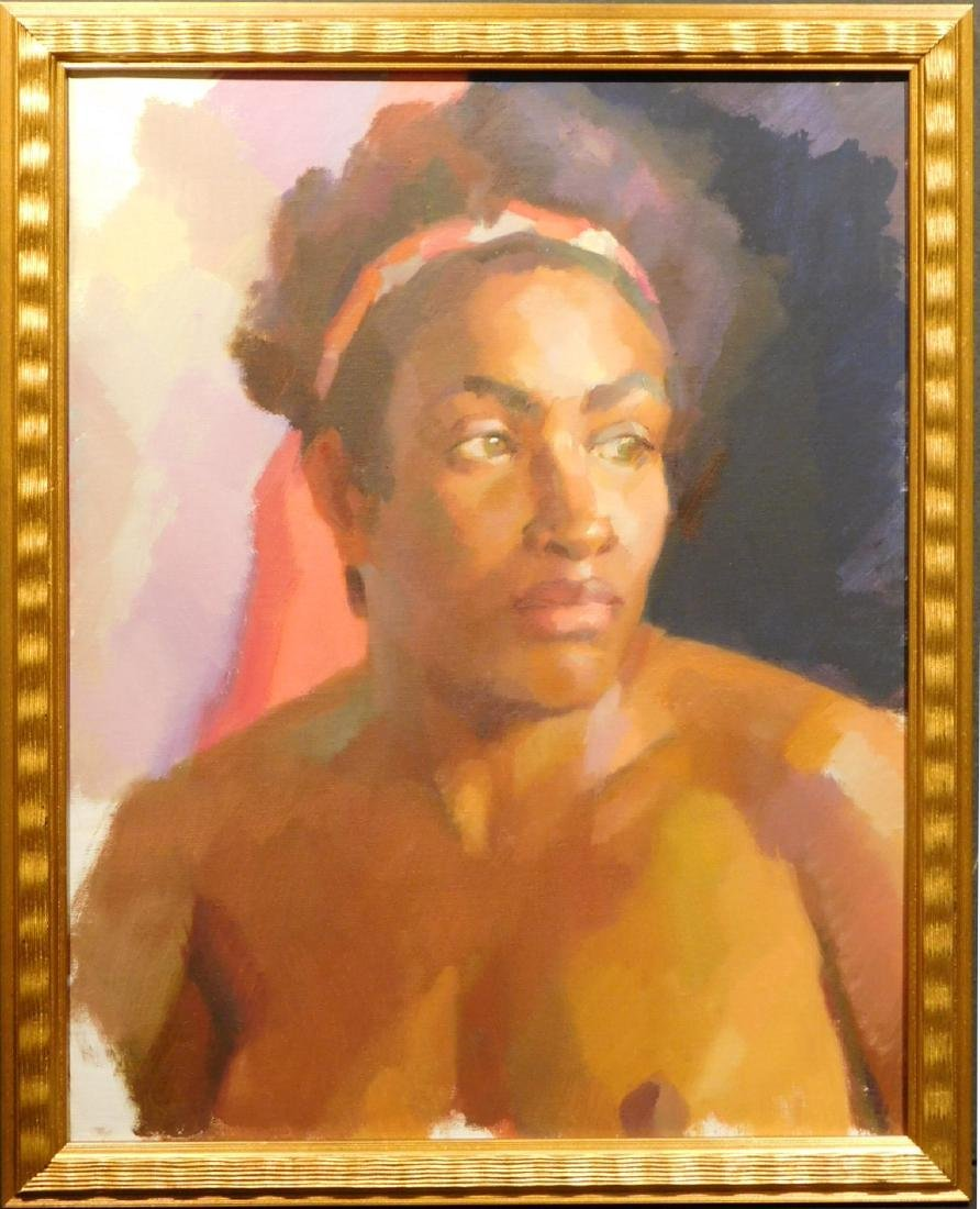 Katya Help: Nude Portrait of a Woman
